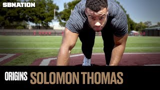How NFL Draft prospect Solomon Thomas becomes a monster on the field - Origins, Episode 16 by SB Nation