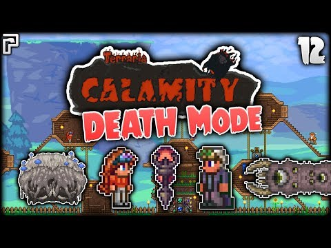 Vengeance & The Eater Of... PYTHONS! | Terraria Calamity Mod Death Mode Let's Play [Episode 12] (видео)