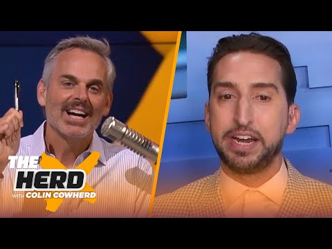 Brady should consider retiring; Cowboys misplayed Dak's contract deal — Nick Wright | THE HERD
