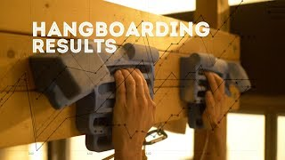 Hangboard Training Results on the Rock Prodigy Training Center by Jackson Climbs