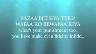 Video Yeh Jism Hai To Kya - Jism 2 Lyrics with English Translation (Ali Azmat) download in MP3, 3GP, MP4, WEBM, AVI, FLV January 2017