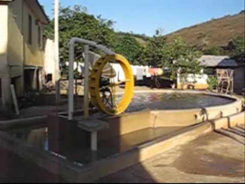 Como instalar uma roda d'água! Laranjal - MG