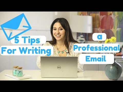 How to Write a Professional Email! | The Intern Queen