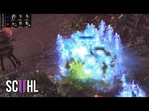 BANELING LANDMINE! - StarCraft 2: Reynor vs Goblin