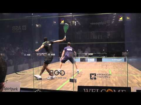 Ramy Ashour vs Gregory Gaultier (World Teams 2011)