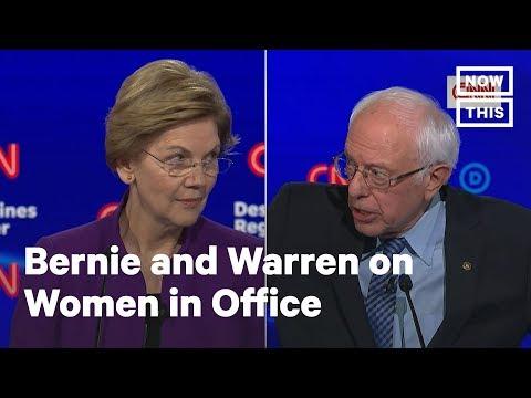 Bernie Sanders & Elizabeth Warren: Can a Woman Win the Presidency? | NowThis