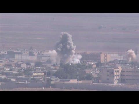 Βομβαρδισμοί με θύματα αμάχους και αναφορές για αποδράσεις τζιχαντιστών…