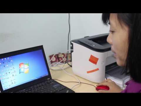 Video giới thiệu máy in canon lbp 6230dn và hướng dẫn cài đặt