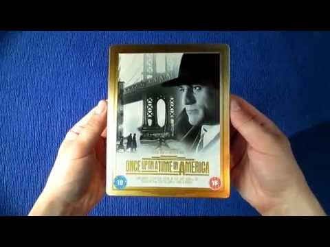 Once Upon A Time In America Extended Director's Cut - Limited Edition Steelbook Blu-Ray Unboxing