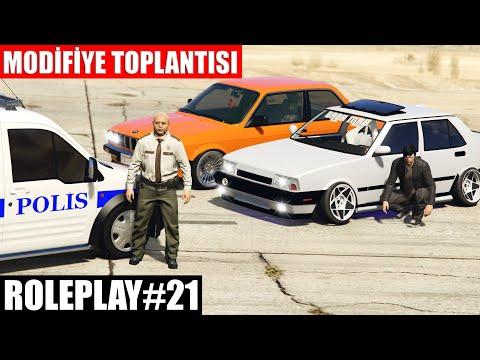 GTA 5 ROLEPLAY #21 MODİFİYE TOPLANTISI | POLİS FENALAŞTI !!