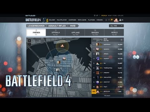 Video of Battlelog