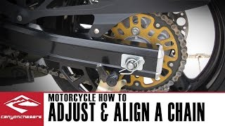 5. How To Adjust and Align a Motorcycle Chain