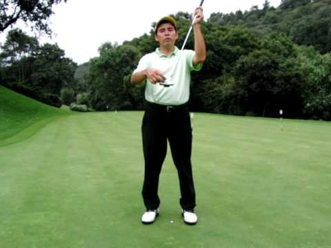 GOLF LESSONS – PUTTING – PUTTER POSITION