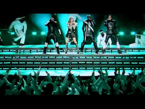 BLACK EYED PEAS @ Super Bowl XLV Half Time Show in HD