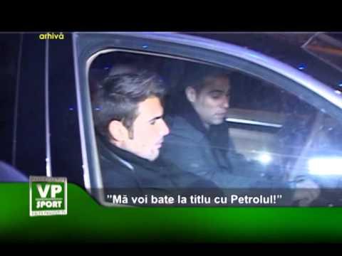 "Mutu: ""Mă voi bate la titlu cu Petrolul!"""