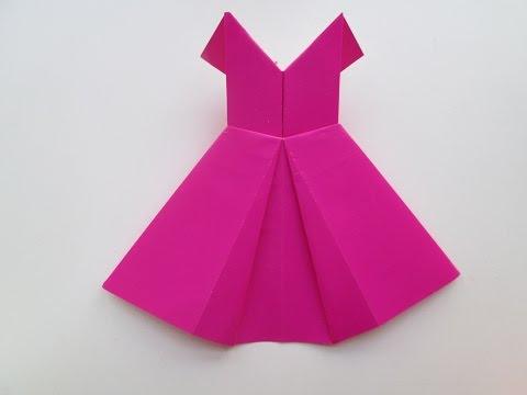 Comment faire une robe avec du papier coloré