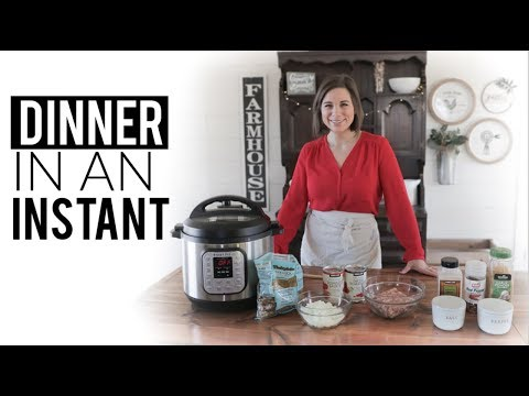 Cooking With Random Ingredients In The Instant Pot | Exclusive Instant Loss Recipe