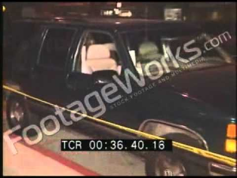 Unreleased Footage Of Notorious Big Murder Crime Scene!