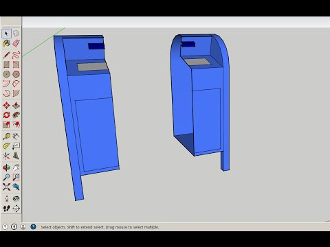 Sketchup how to mirror a model drafting modeling and for Mirror in sketchup