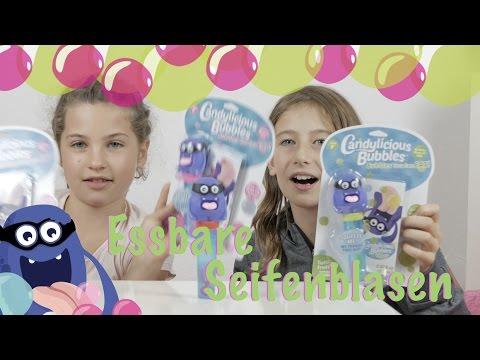 Candylicious Bubbles - Essbare Seifeblasen im Test + Gewinner Leuchtkreisel | Die Emmys