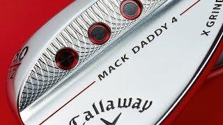 Roger Cleveland presenta i nuovi wedge Mack Daddy 4