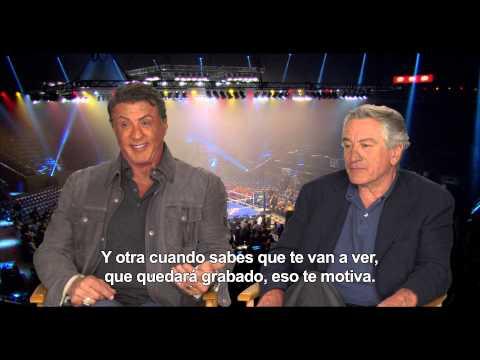 La Gran Revancha - Entrevista Robert de Niro y Sylvester Stallone