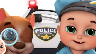 child friendly police activity | catch diamond thief | Police chase and rescue | Kids videos