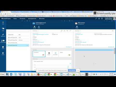 Microsoft Azure Upload Files to Storage Account Mount in HDInsight Hive (видео)