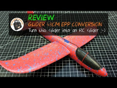 Review - $4 Chuck Glider RC Brushless Motor Conversion