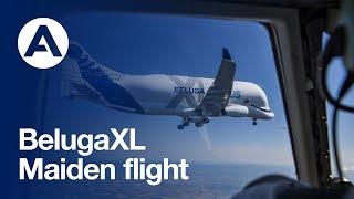 Download Lagu First flight of Airbus' BelugaXL Mp3