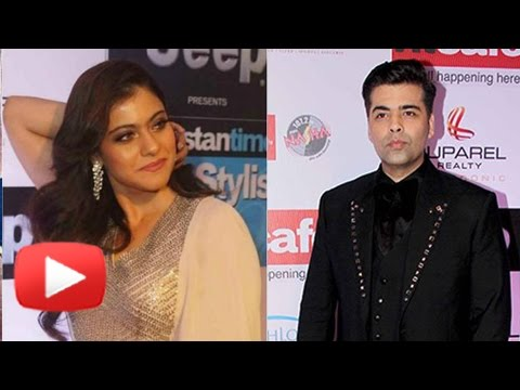 Enemies Karan Johar And Kajol IGNORE Each Other |