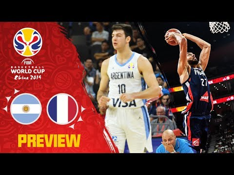 Argentina v France Preview | Best Plays of each team so far | FIBA Basketball World Cup 2019