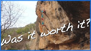 Margalef Climbing - Redpoint Project by The Climbing Nomads