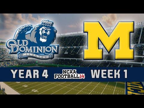 NCAA Football 14 Dynasty - Old Dominion: Episode 45