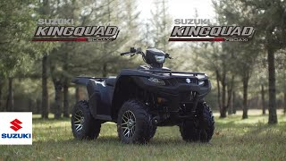 6. KINGQUAD 750AXi 4X4 / POWER STEERING / KINGQUAD 500AXi 4X4 / POWER STEERING OFFICIAL PROMOTION VIDEO