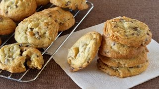 How To Make Soft And Chewy Chocolate Chip Cookies (Recipe)チューイーチョコレートチップクッキーの作り方 (レシピ)