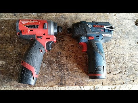 Milwaukee 2553 Gen 2 Vs Bosch Ps42