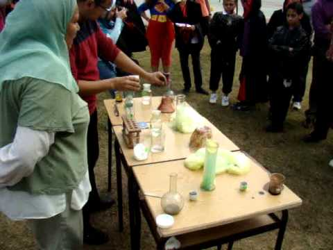 Halloween Science Booth (видео)