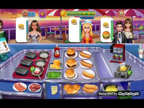 🍷🍟🔥Kitchen Craze:❤ Food Restaurant Chef Cooking Games🔥🍔🍷(14-27)