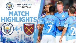 HIGHLIGHTS | Man City 4-1 West Ham I Premier League Asia Trophy