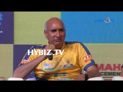 Nimmagadda Prasad-Tamil Thalaivas Jersey Launch