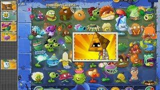 Plants vs Zombies 2 Todas las Plantas vs Zombi Carapiramide x1000