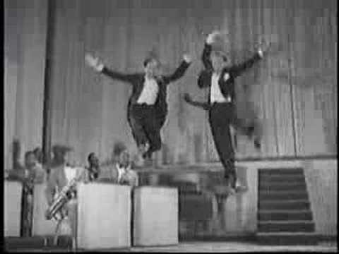 Best tap ever from Stormy Weather- Nicholas Brothers