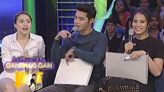 Video GGV: Cristine, Zanjoe & Isabelle talk about their preferred qualities for a partner MP3, 3GP, MP4, WEBM, AVI, FLV Mei 2018