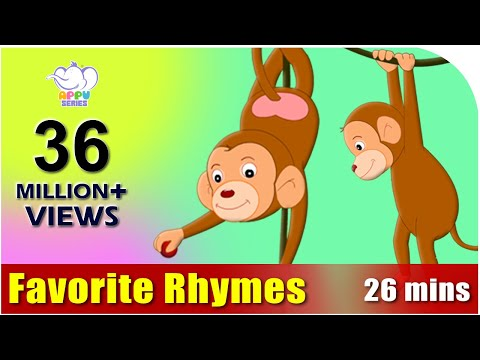 rhymes - This collection of famous rhymes is a must watch. Keeps your children entertained for long and educates them too! Get our interactive App!: http://itunes.app...