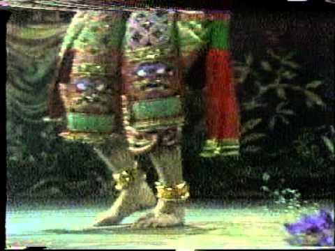 รายการนัฏกานุรักษ์ ตอน การฝึกหัดโขนละครไทย