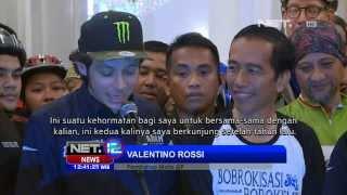 Video NET12 - Jorge Lorenzo dan Valentino Rossi jadi tamu Jokowi MP3, 3GP, MP4, WEBM, AVI, FLV Maret 2019