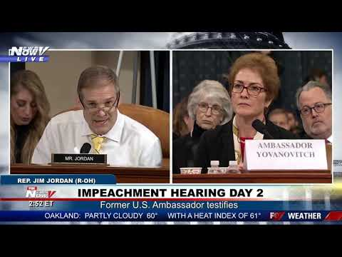 I AM ABOUT TO GAVEL YOU DOWN Schiff warns Jordan during impeachment hearing