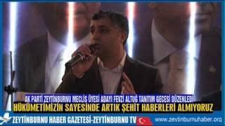 Ak Parti Zeytinburnu MeclisÜyesi Adayı Fevzi Altuğ Tanıtım Gecesi Düzenledi