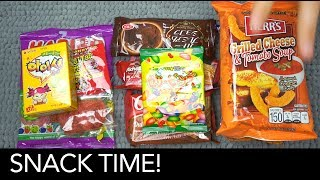July's MunchPak brings us many more delicious snacks!Get your own: https://munchpak.com/Support me on Patreon: https://www.patreon.com/asmrvids